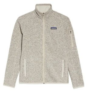 Patagonia White/cremates Better weather sweater